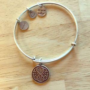 Celtic pendant silver bracelet